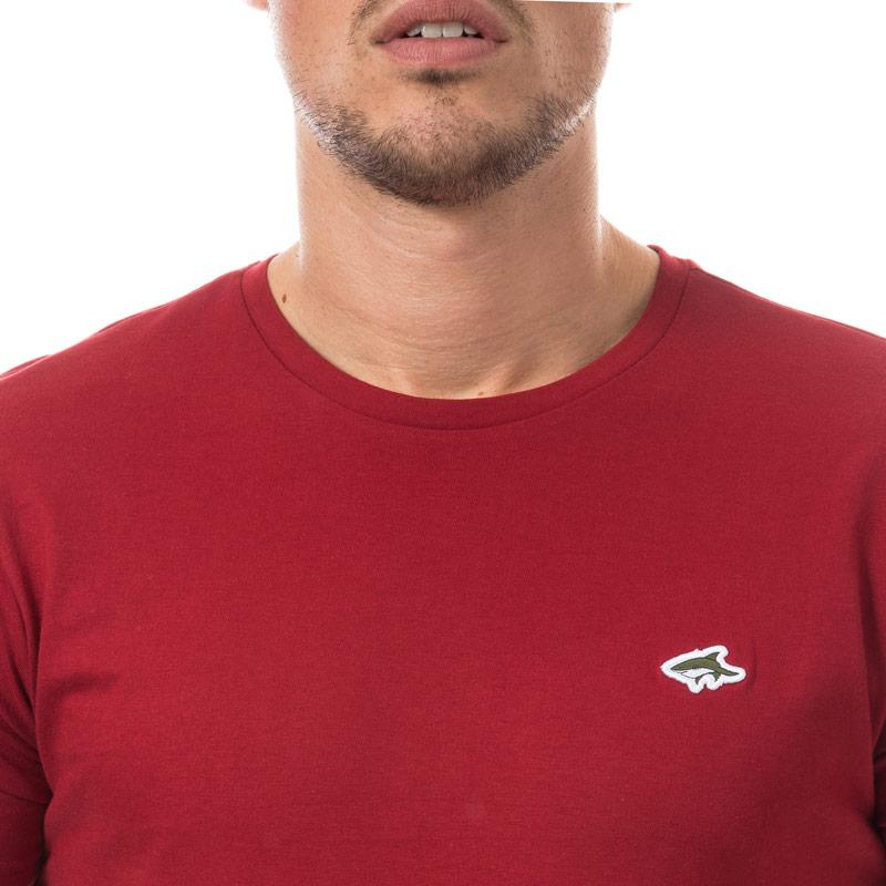 Tričko Le Shark Mens Keppel T-Shirt Burgundy