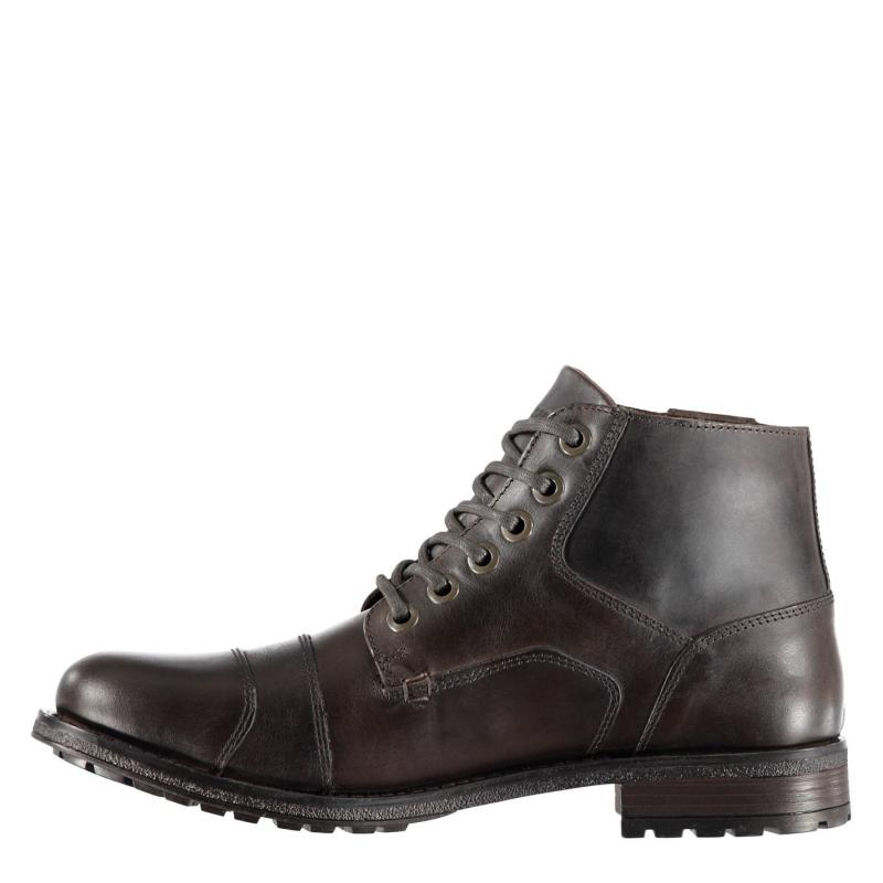 Boty Firetrap Webb Boots Mens Brown