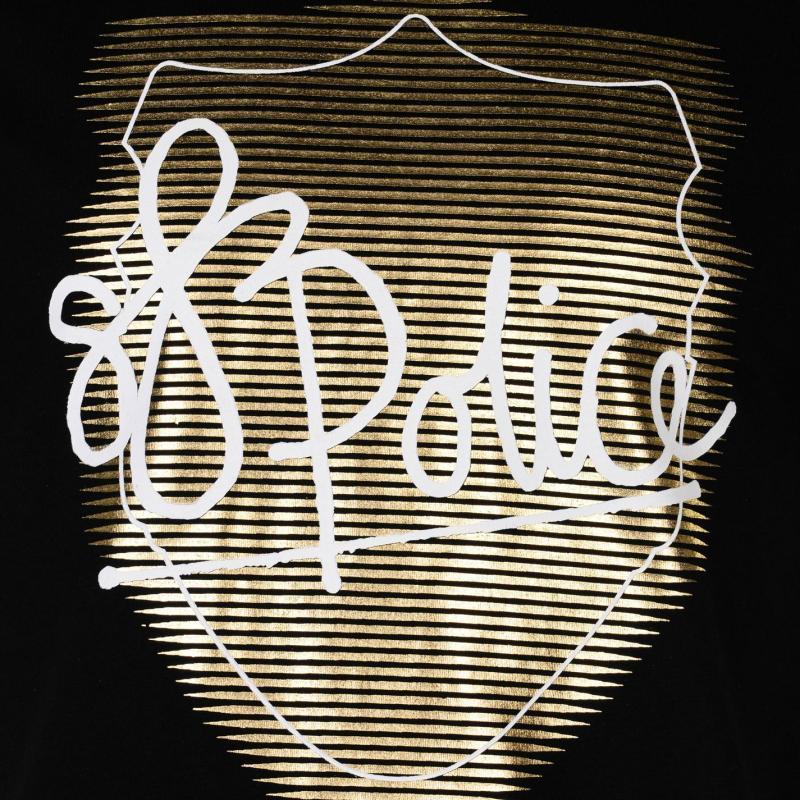 Tričko 883 Police Lowa TShirt Black