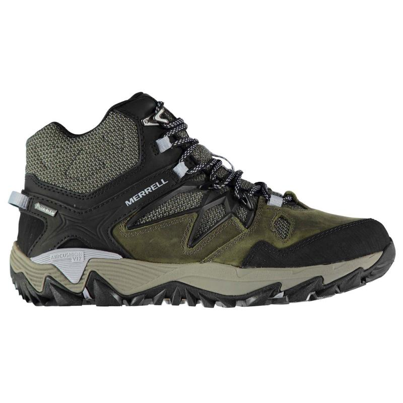 Merrell All Out Blaze 2 Mid GTX Walking Boots Ladies Dark Olive