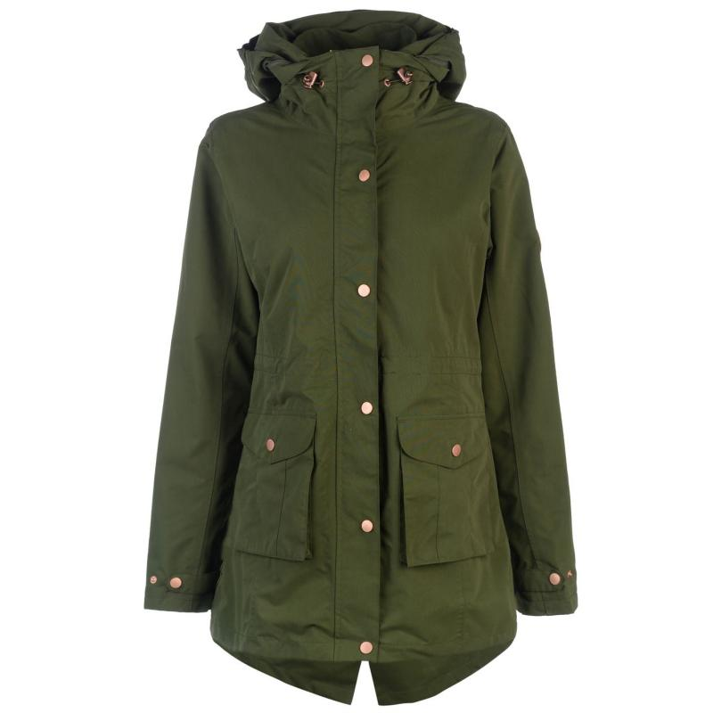 Gelert Heritage Jacket Ladies Khaki