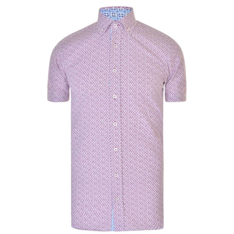 Jiggler Lord Berlue Printed Shirt White