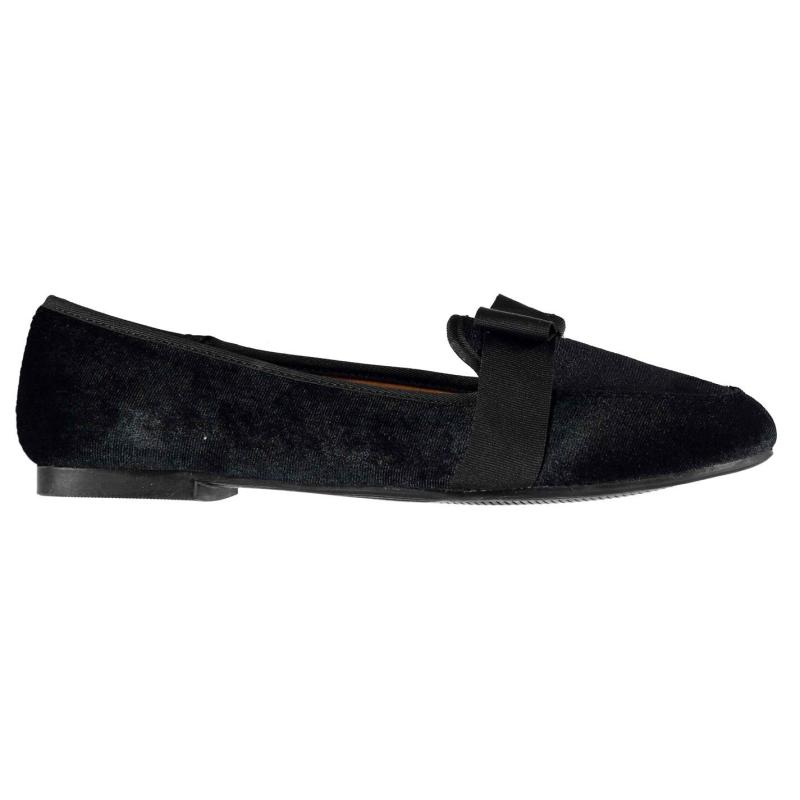 Miso Laurie Bow Shoes Ladies Black