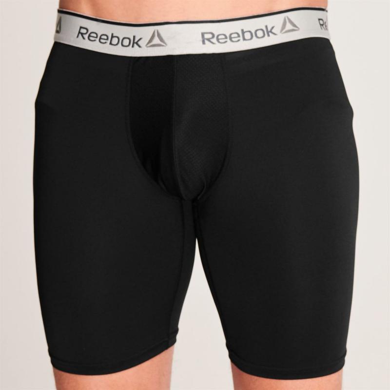 Spodní prádlo Reebok Hoy Performance Sports Trunk Mens Black