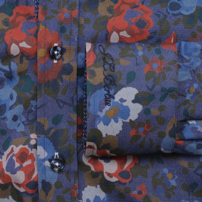 Jiggler Lord Berlue Long Sleeved Shirt Navy