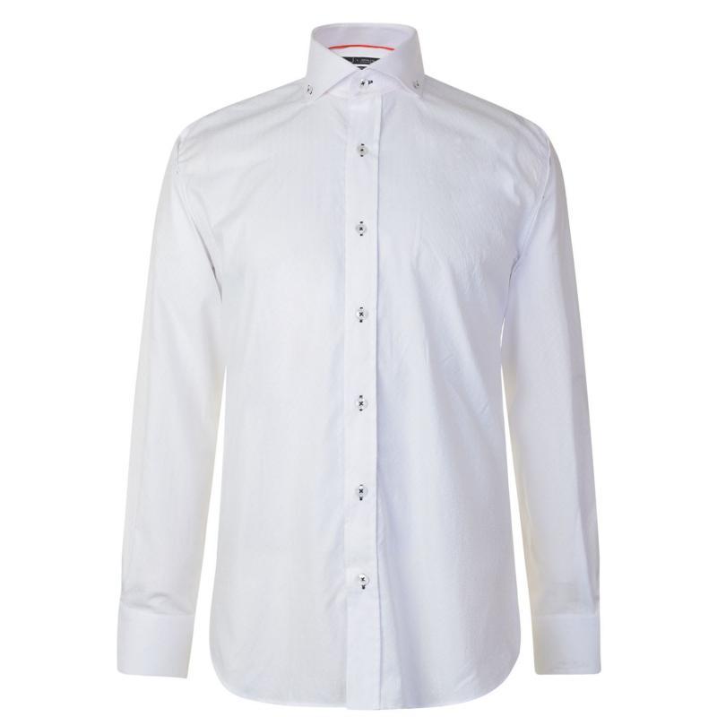 Jiggler Lord Berlue Long Sleeved Shirt White