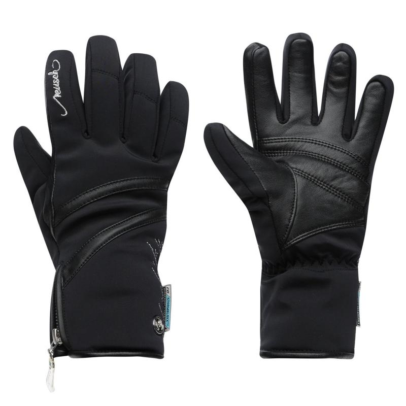 Marker Lore Storm Gloves Ladies Black Silver