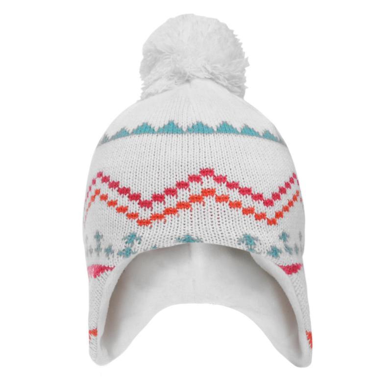 Roxy Lima Beanie Hat Infant Girls Bright White