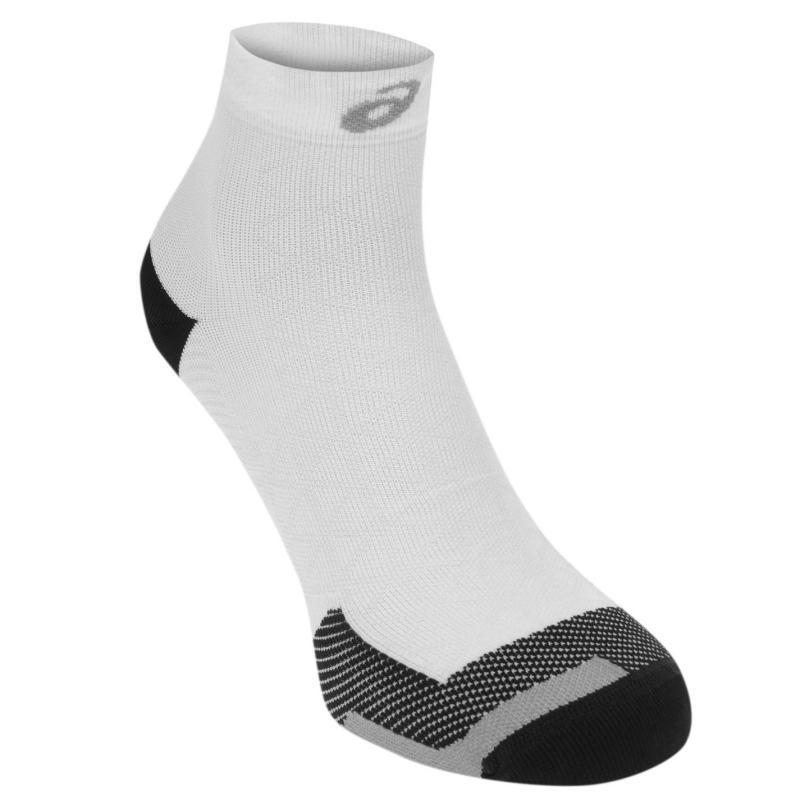 Asics Motion LT Running Socks Mens White/Black