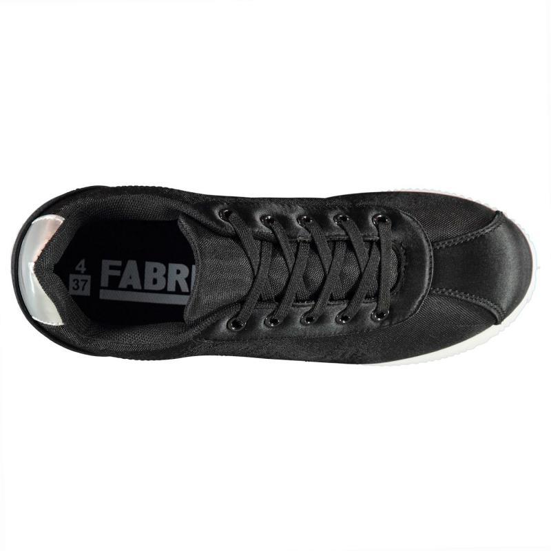 Fabric Pero Ladies Trainers Black