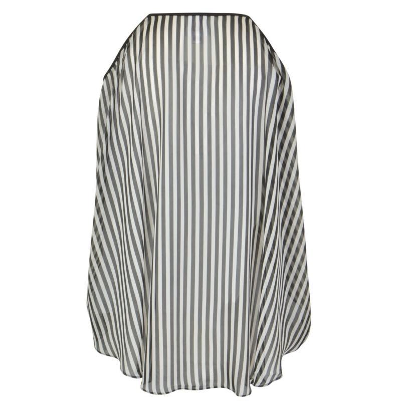 Košile Forever Unique Cold Shoulder Blouse Black/White