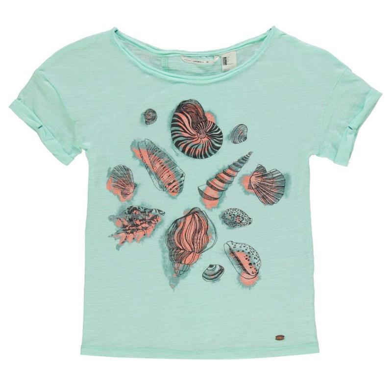 Tričko ONeill Image T Shirt Junior Girls Green