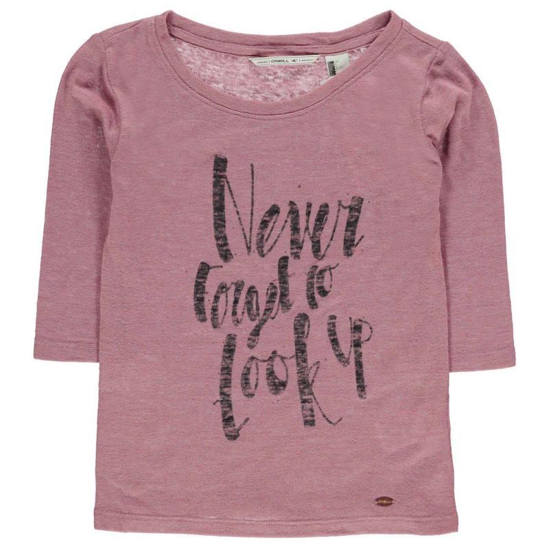 Tričko ONeill Reflection T Shirt Junior Girls Foxglove
