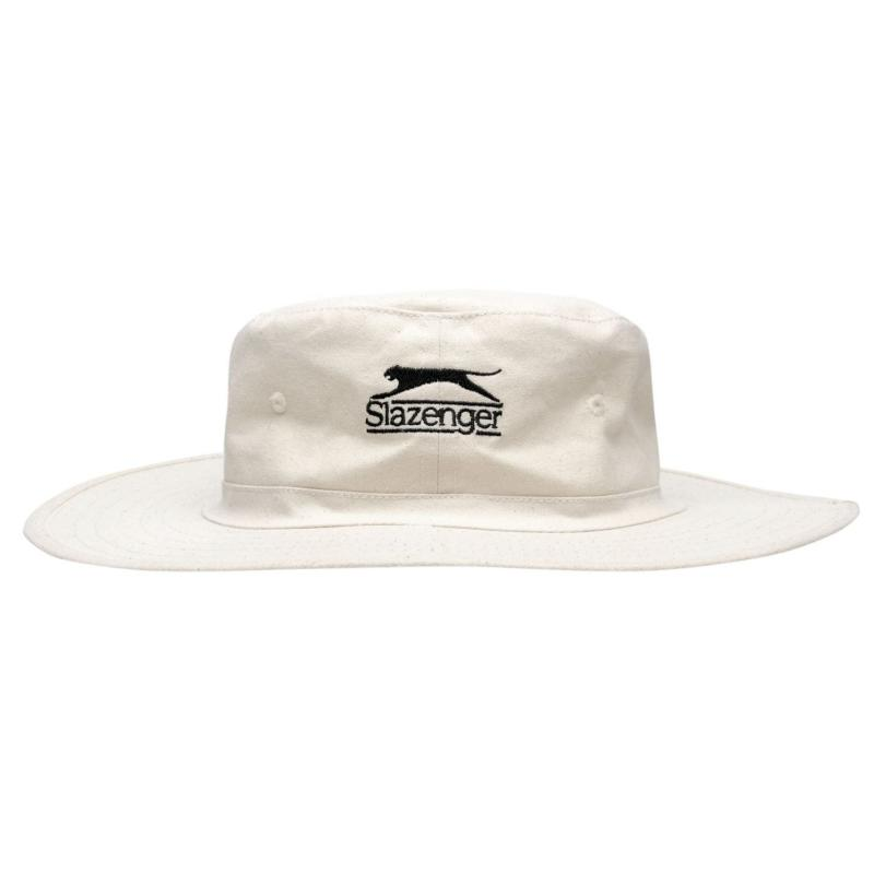Slazenger Panama Hat White