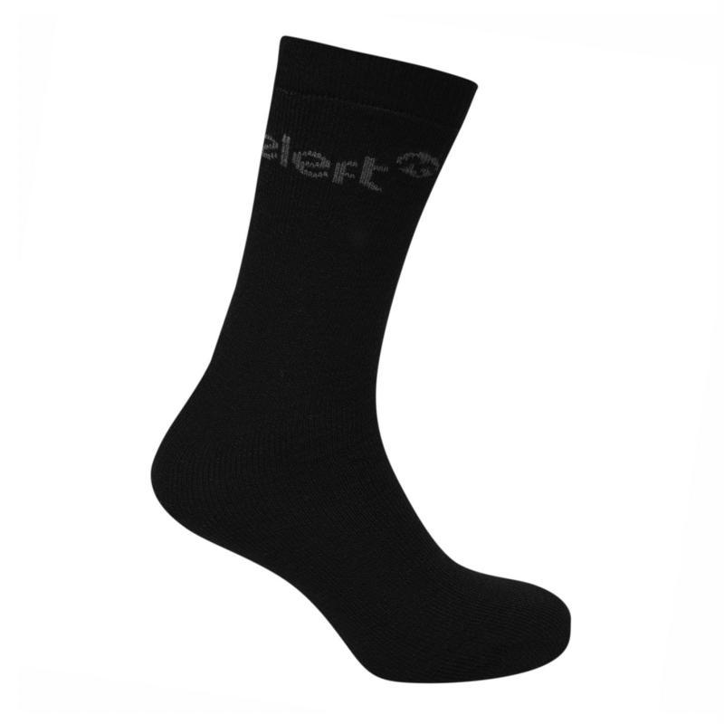 Ponožky Gelert 3 Pack Mens Thermal Socks Black