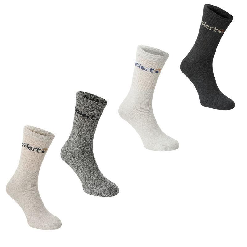 Gelert Walking Boot Sock 4 Pack Junior Grey