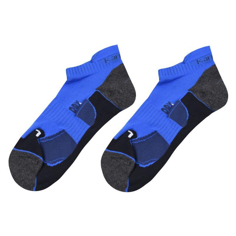 Karrimor 2 Pack Running Socks Mens Blue/Navy