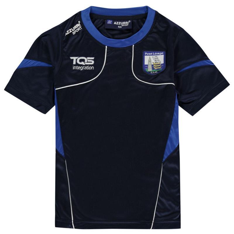 Tričko Azzurri Waterford T Shirt Junior Navy/Royal/Wht