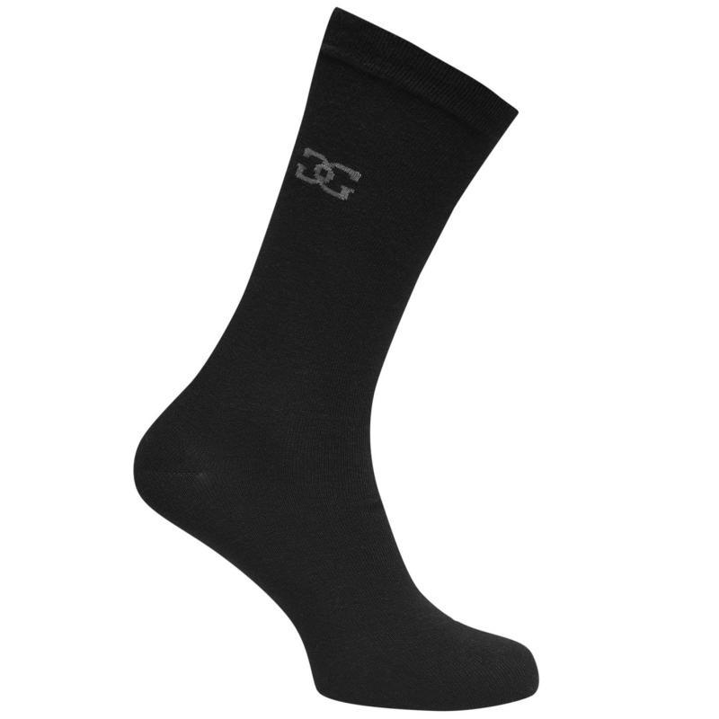 Ponožky Giorgio 5 Pack Classic Sock Mens Black