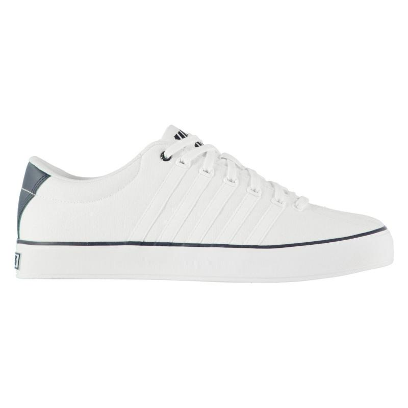 K Swiss Court Pro Vulc Trainers Mens White/Blue