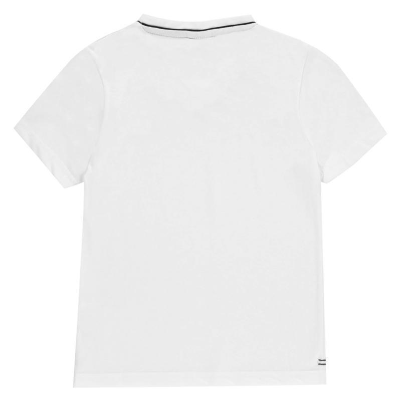 Tričko Slazenger V Neck T Shirt Junior Boys White