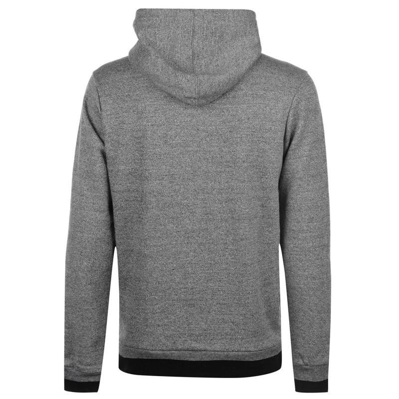 Mikina Kangol Lined Hood OTH Sweater Mens Grey Marl