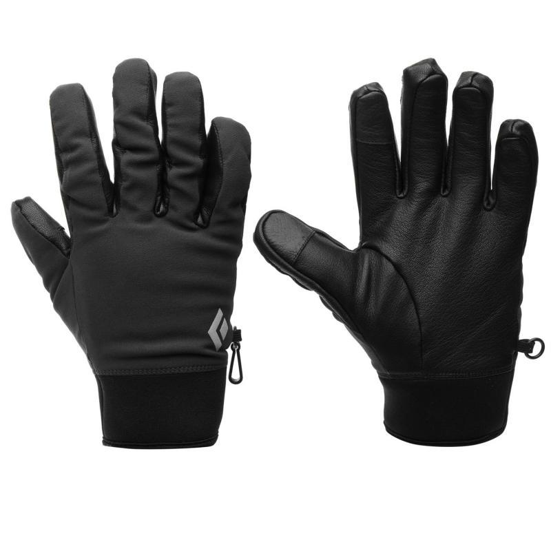 Black Diamond Softshell Skiing Gloves Black