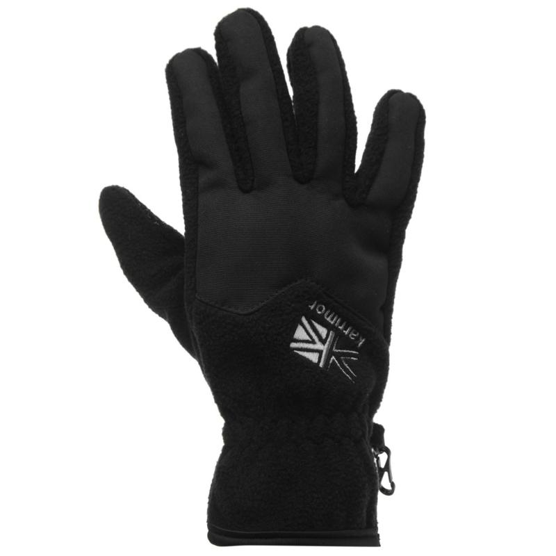 Karrimor Fleece Gloves Mens Black