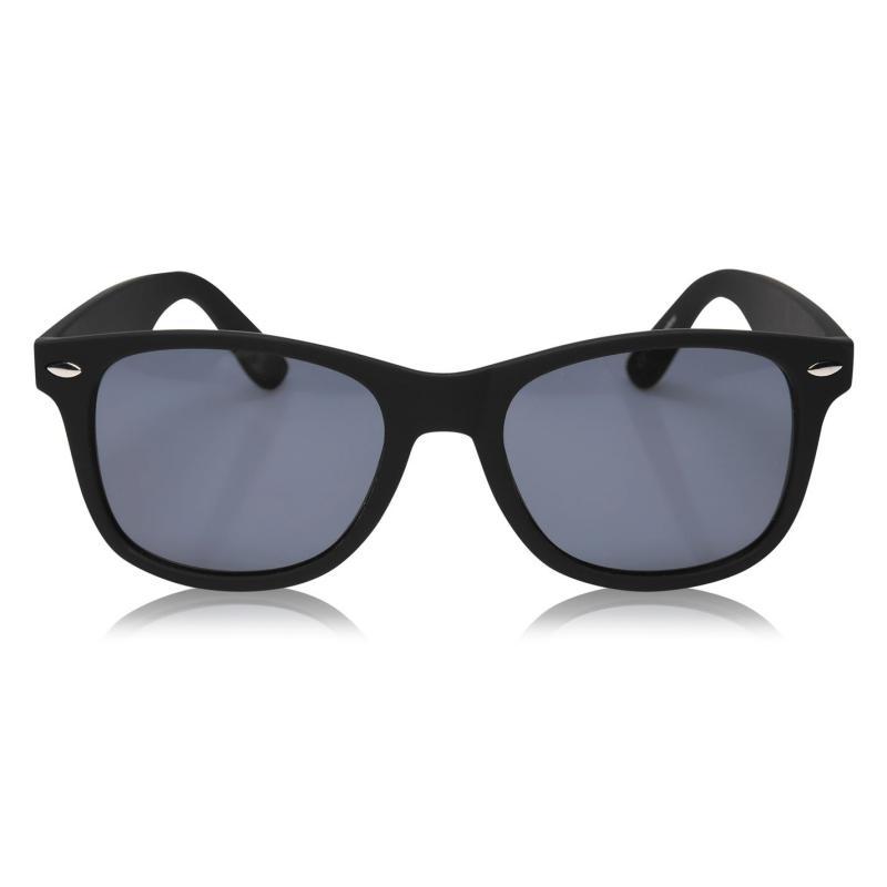 Slazenger Wayfarer Sunglasses Mens Black/Grey