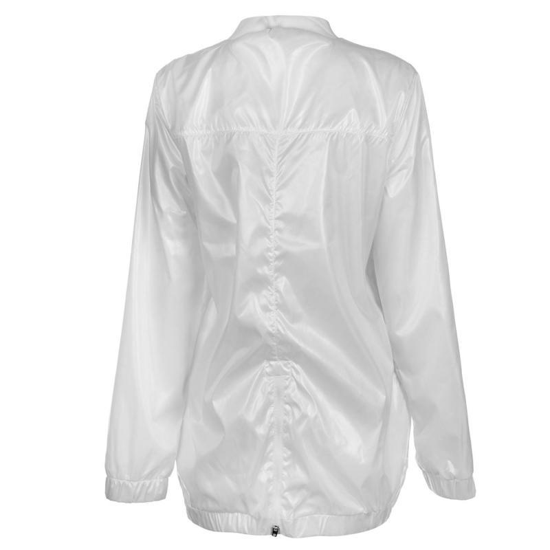 USA Pro Longline Bomber Jacket Ladies White