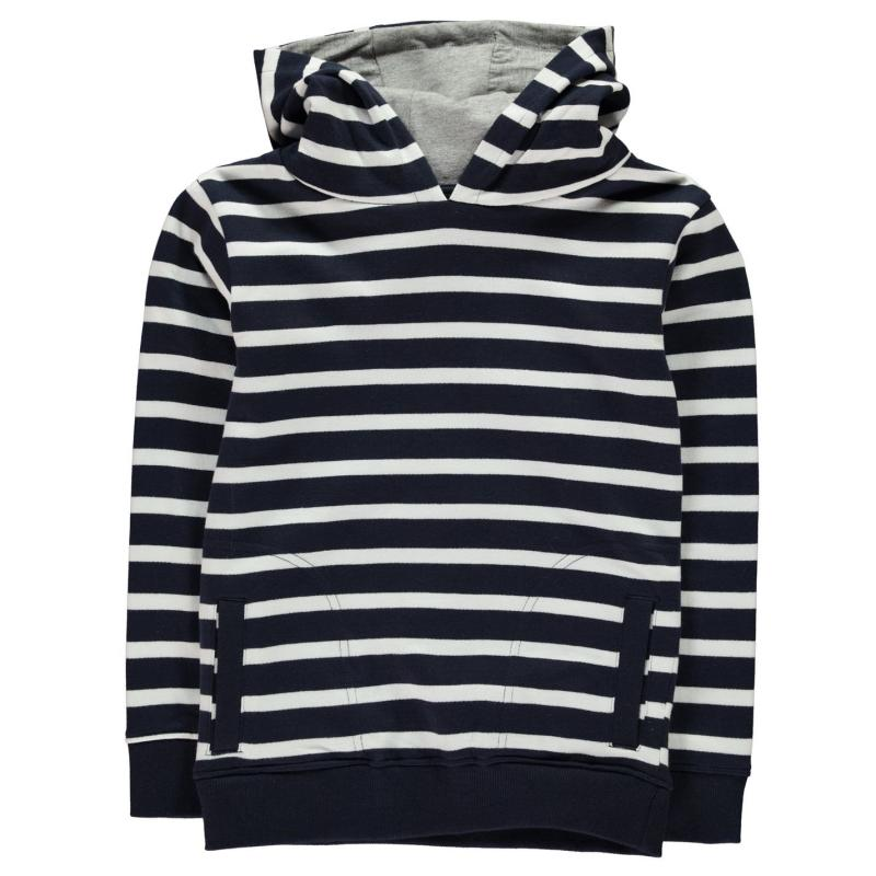 Mikina Crafted OTH Hoody Child Boys Navy Stripe