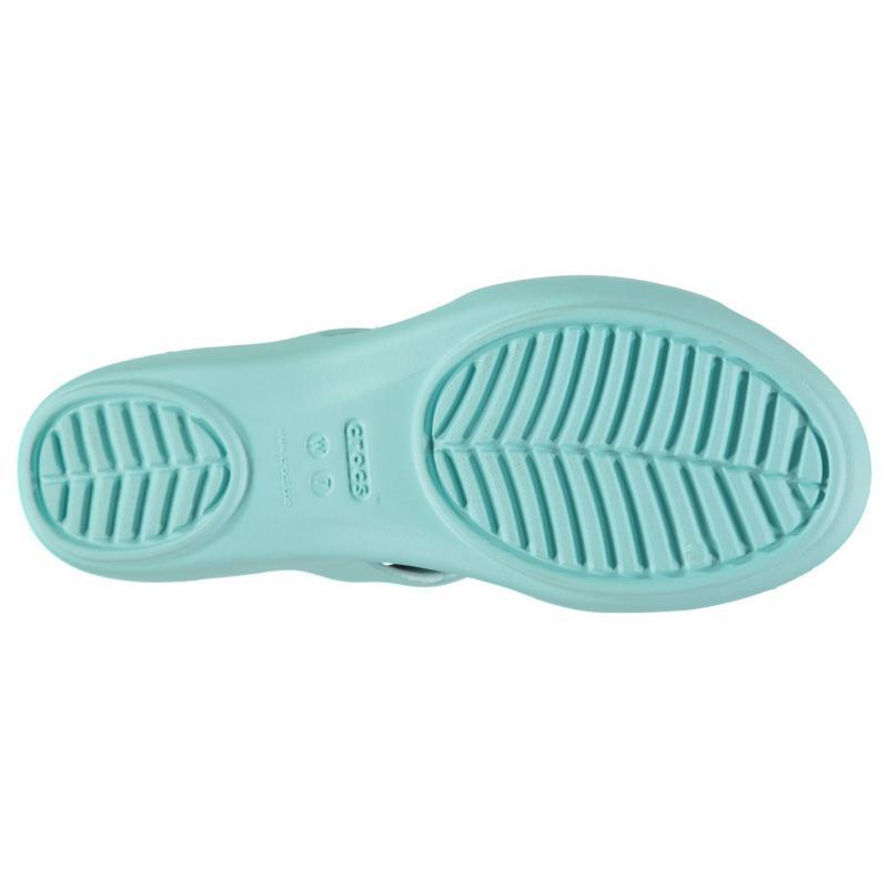 Boty Crocs Kelli Sandal Ladies Ice Blue