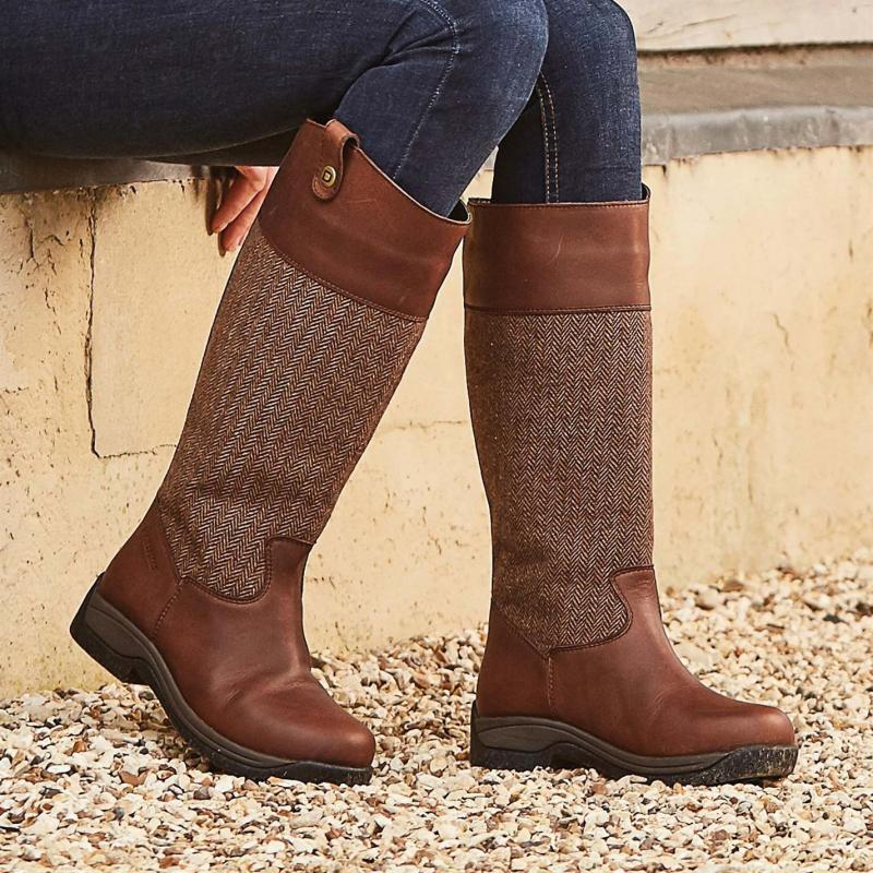 Dublin Eden Country Boots Drifted Brown