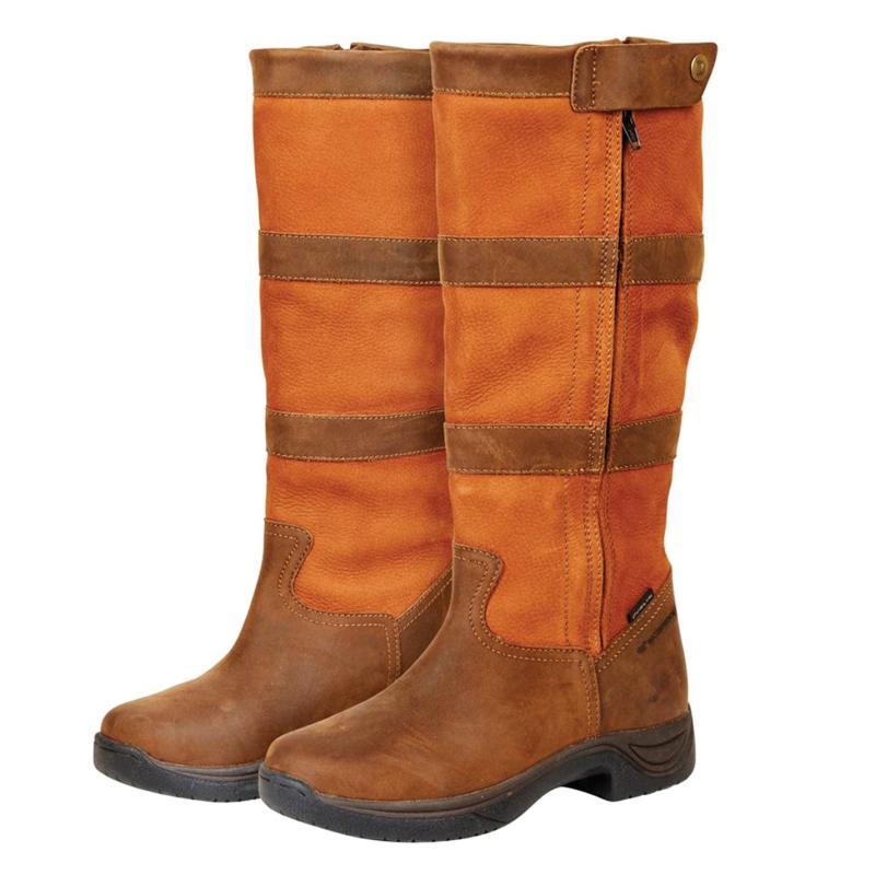 Dublin River Zip Boots Dark Brown