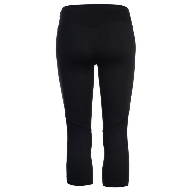 Legíny New Balance Balance Graphic Run Capri Leggings Ladies Blue Print