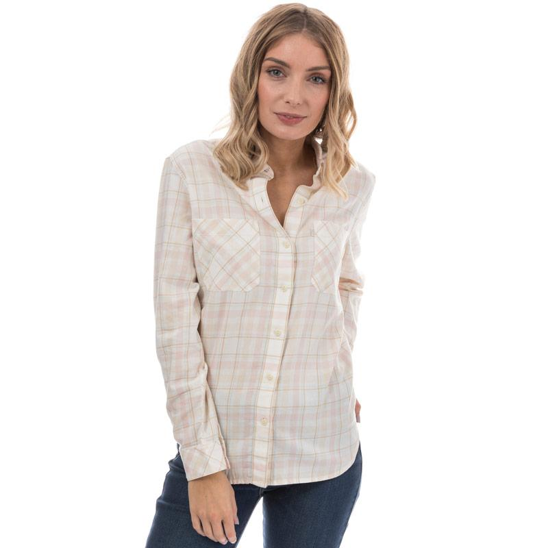 Levis Womens Boyfriend Workwear Shirt Pink