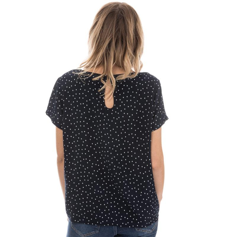 Only Womens First Stars Top Navy