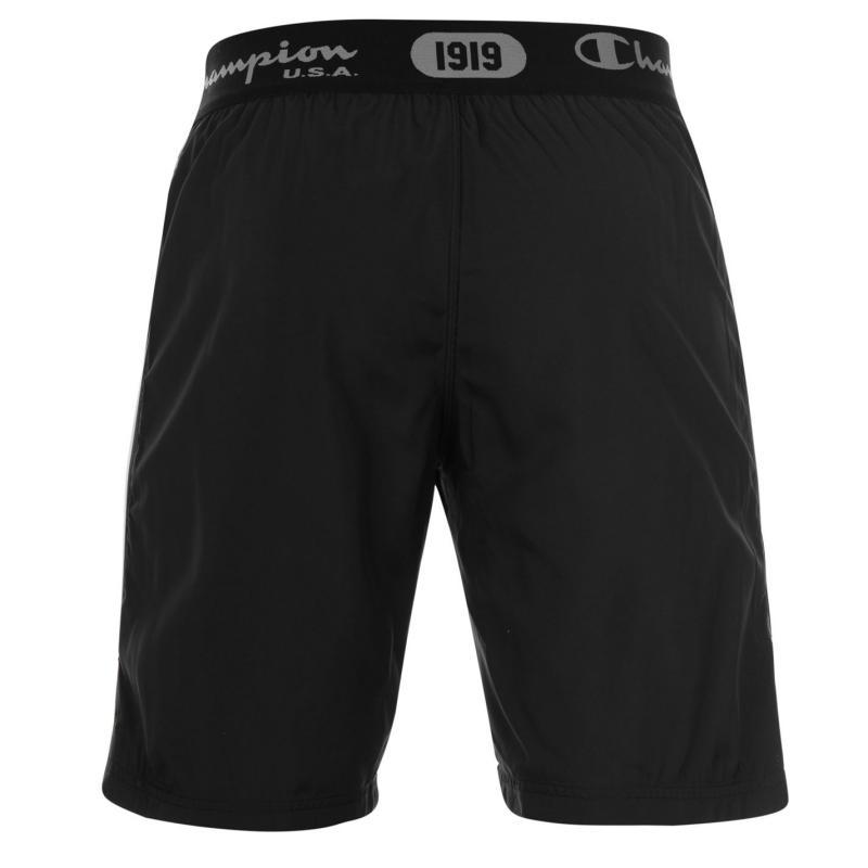 Champion Tape Shorts Black