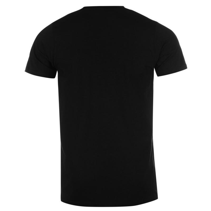Tričko Creative Recreation Leo T Shirt Black