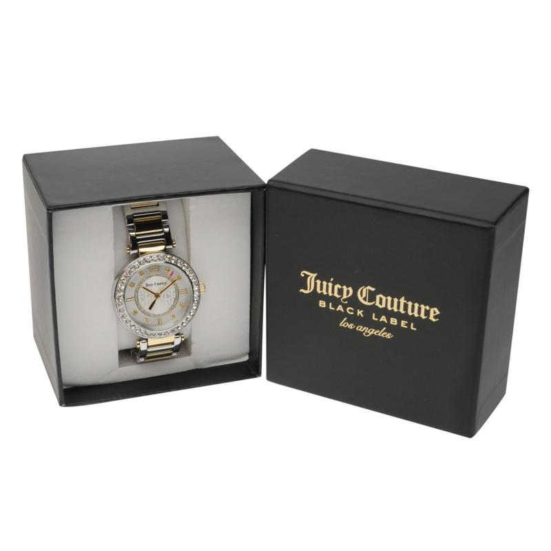 Juicy Couture Cali Watch Ld84 Silver/Gold
