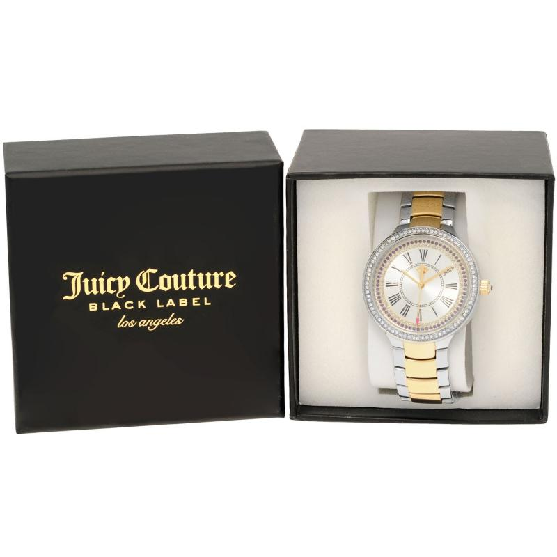 Juicy Couture Catalina Watch Ld84 Silver/Gold