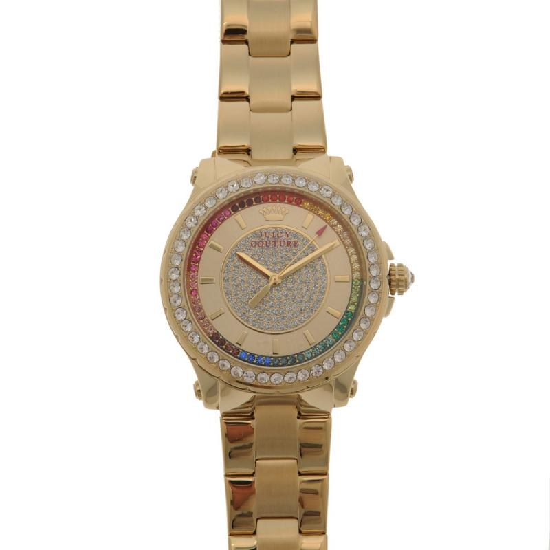 Juicy Couture Pedigree Watch Ld84 Gold