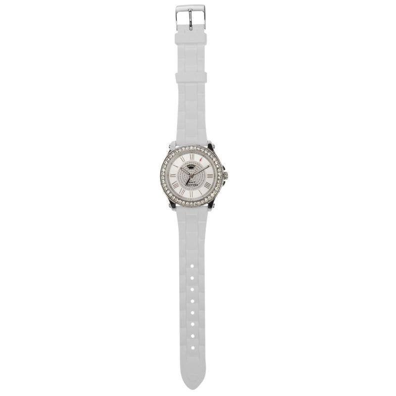 Juicy Couture Pedigree Watch Ld84 White/Silver