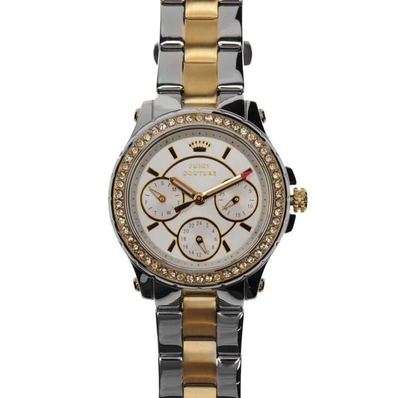 Juicy Couture Pedigree Watch Ld84 Silver/Gold
