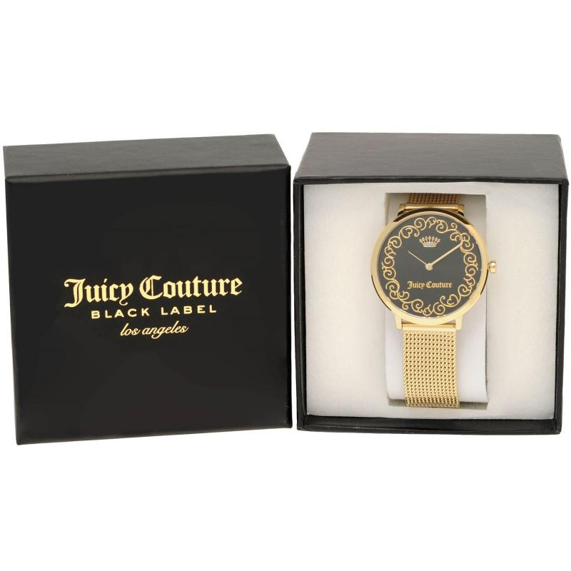 Juicy Couture Ultra Slim Wtc Ld84 Gold/Black