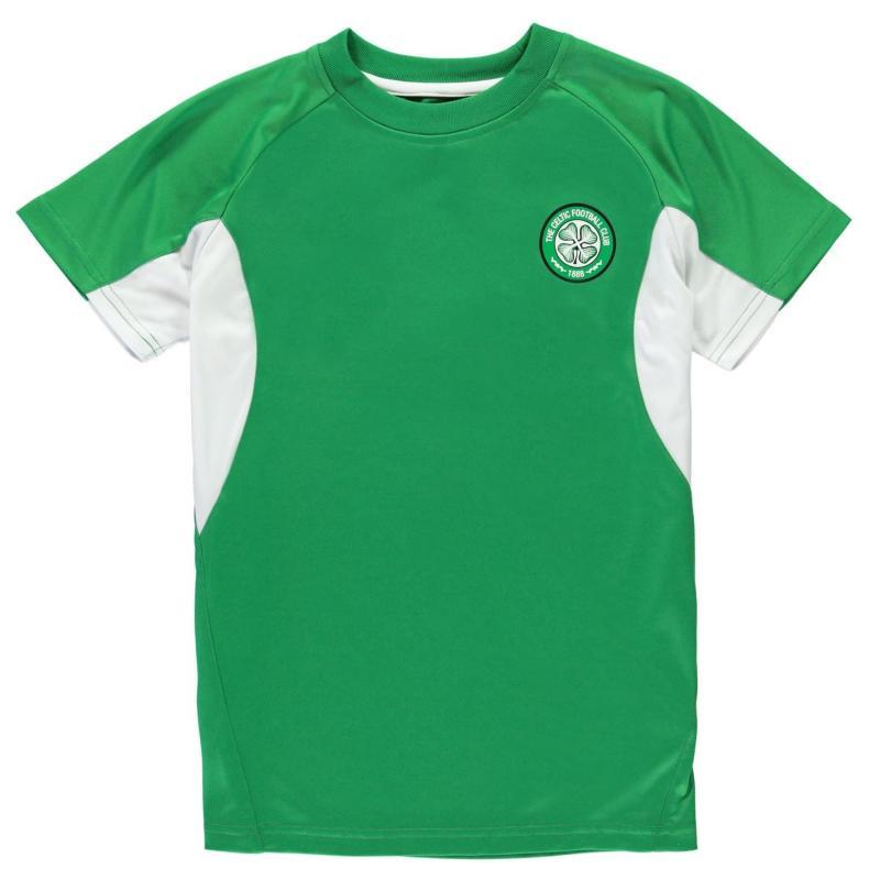 Source Lab Celtic FC Poly T Shirt Junior Boys Green