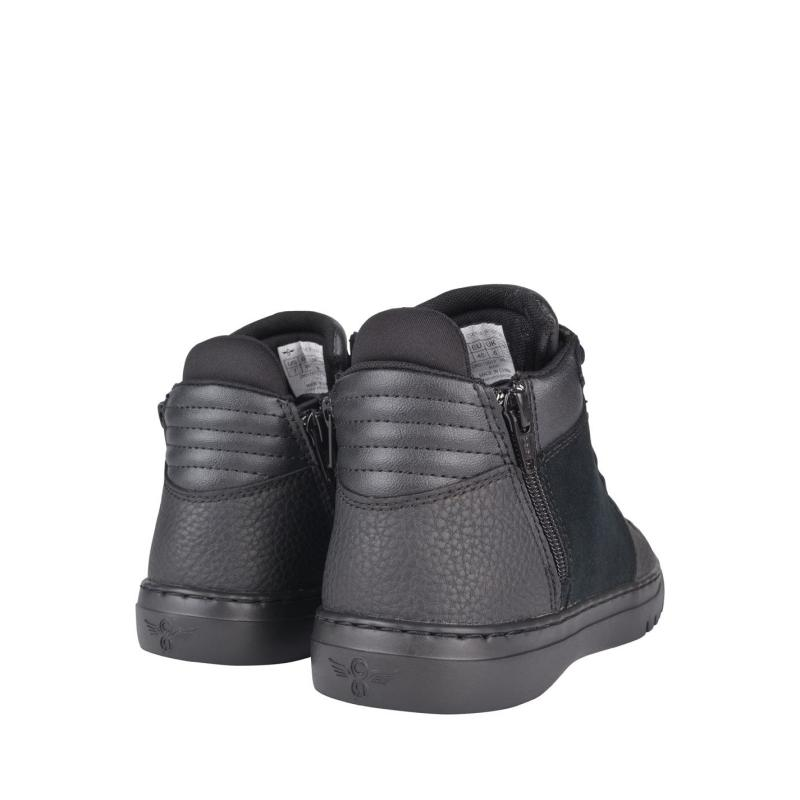 Creative Recreation Mid Top Trainers Black