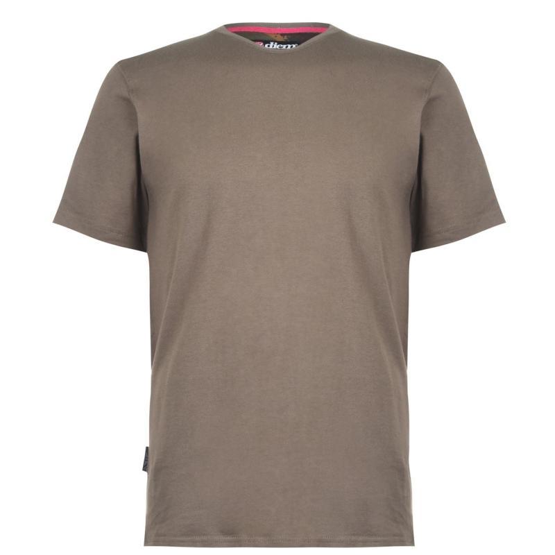 Tričko Diem Small Logo Tee Shirt Green
