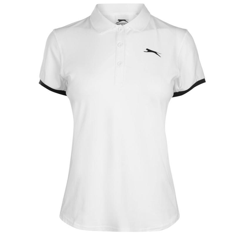 Slazenger Court Polo Shirt Ladies White
