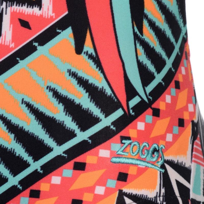 Plavky Zoggs Perch Starback Swimming Costume Ladies Multi